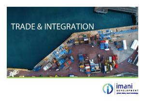 Trade & Integration